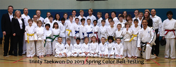 Color Belt Testing Group